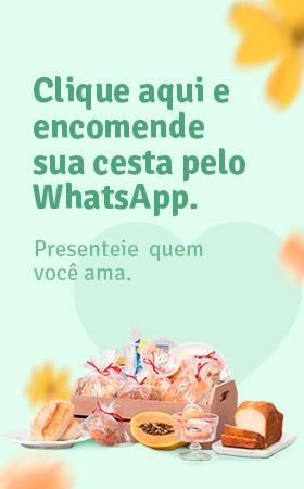 Encomenda de cestas Kaminski pelo Whatsapp